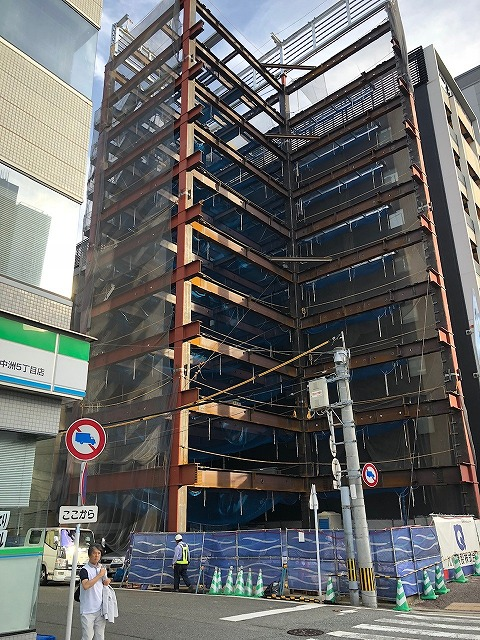 西熊本駅駐車場棟新築工事